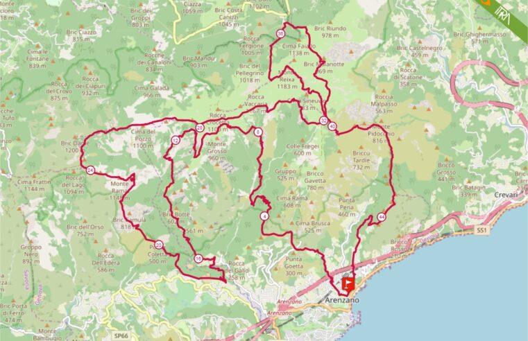 Percorso Gran Trail Rensen 2020 – 46km