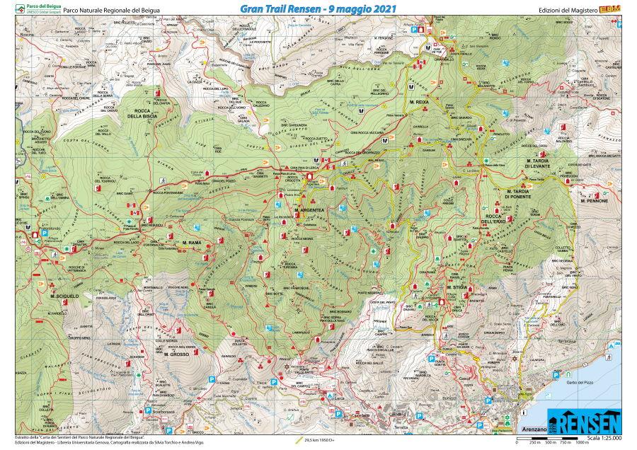 Cartina GTR 2021 – Ed. Magistero